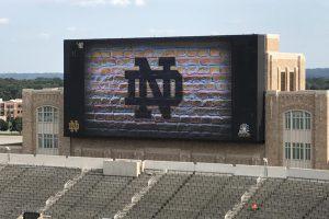 nd stadium brick screen